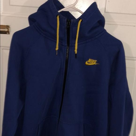 Nike Sweater Blue \u0026 Yellow !